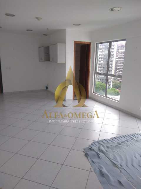 12 - Sala Comercial Avenida Evandro Lins e Silva,Barra da Tijuca, Rio de Janeiro, RJ Para Alugar, 42m² - AO80006L - 3
