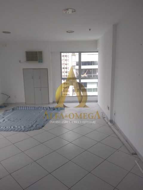 13 - Sala Comercial Avenida Evandro Lins e Silva,Barra da Tijuca, Rio de Janeiro, RJ Para Alugar, 42m² - AO80006L - 9