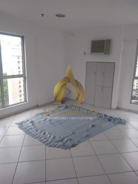 14 - Sala Comercial Avenida Evandro Lins e Silva,Barra da Tijuca, Rio de Janeiro, RJ Para Alugar, 42m² - AO80006L - 10