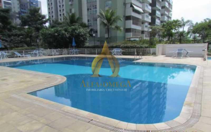 4 - Cobertura 2 Quartos Para Alugar Barra da Tijuca, Rio de Janeiro - R$ 4.000 - AO50044L - 19