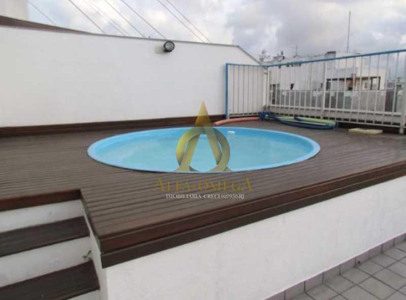 18 - Cobertura 2 Quartos Para Alugar Barra da Tijuca, Rio de Janeiro - R$ 4.000 - AO50044L - 15