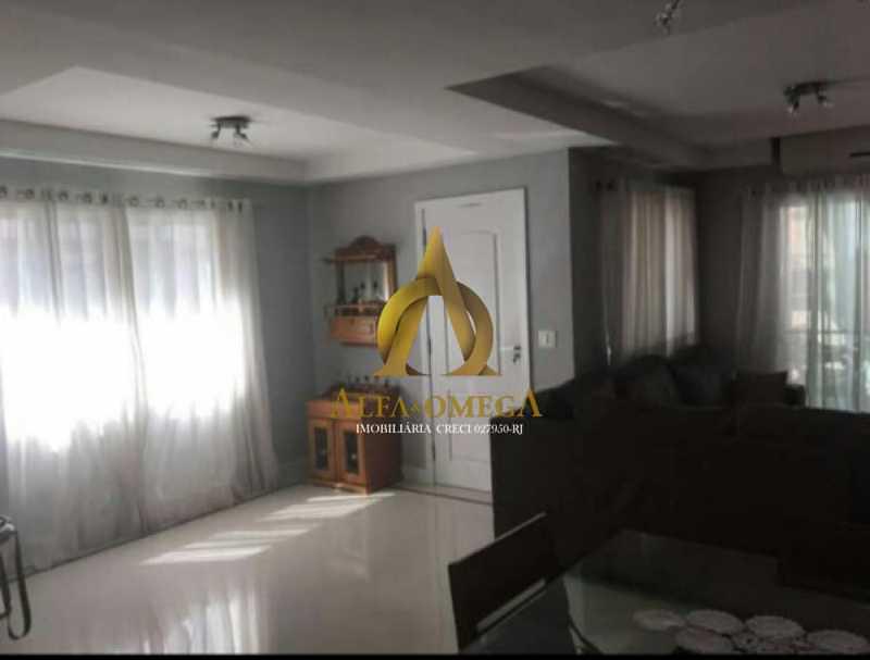 833_G1576609456 - Casa em Condomínio 4 quartos à venda Anil, Rio de Janeiro - R$ 1.020.000 - AOJ60027 - 4