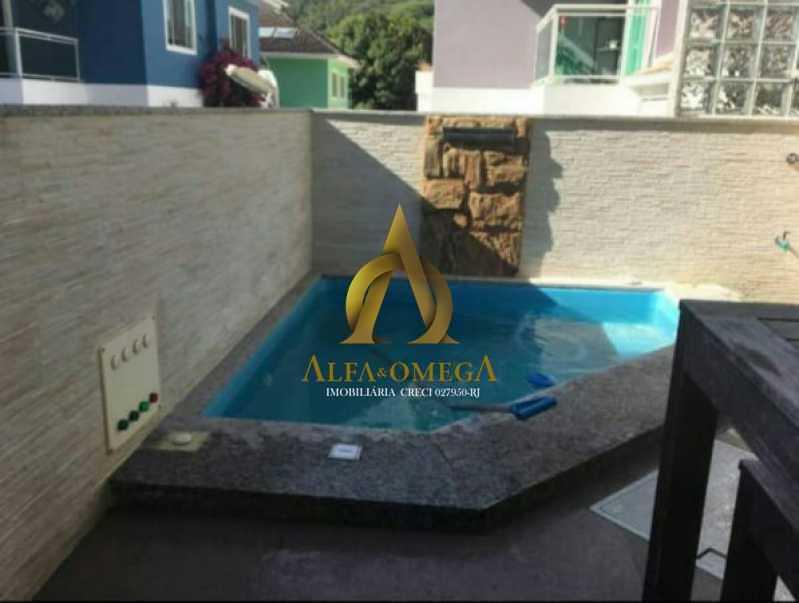 833_G1576609435 - Casa em Condomínio 4 quartos à venda Anil, Rio de Janeiro - R$ 1.020.000 - AOJ60027 - 15