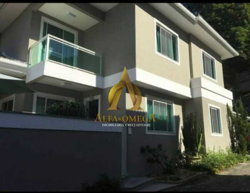 833_G1576609452 - Casa em Condomínio 4 quartos à venda Anil, Rio de Janeiro - R$ 1.020.000 - AOJ60027 - 1
