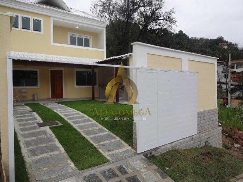 Casa Fraguesia - Casa em Condomínio Freguesia (Jacarepaguá), Rio de Janeiro, RJ Para Alugar, 4 Quartos, 240m² - AOJ60012L - 1