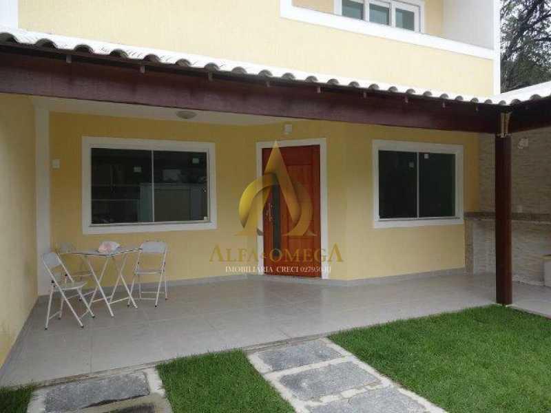 Casa Fraguesia 01 1 - Casa em Condomínio Freguesia (Jacarepaguá), Rio de Janeiro, RJ Para Alugar, 4 Quartos, 240m² - AOJ60012L - 3