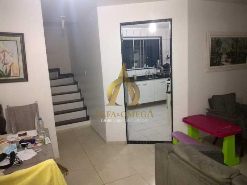 5 - Casa em Condomínio 2 quartos à venda Praça Seca, Rio de Janeiro - R$ 210.000 - AOJ60028 - 4