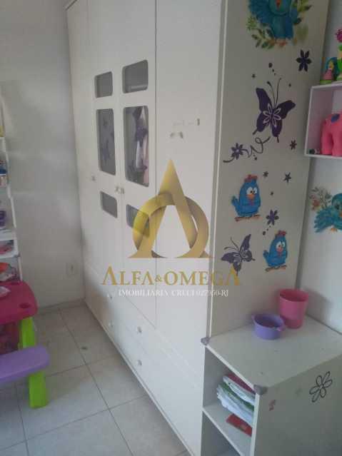9 - Casa em Condomínio 2 quartos à venda Praça Seca, Rio de Janeiro - R$ 210.000 - AOJ60028 - 12
