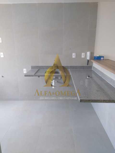 5 - Casa em Condomínio Rua Capitão Menezes,Praça Seca, Rio de Janeiro, RJ À Venda, 2 Quartos, 66m² - AOJ60032 - 21