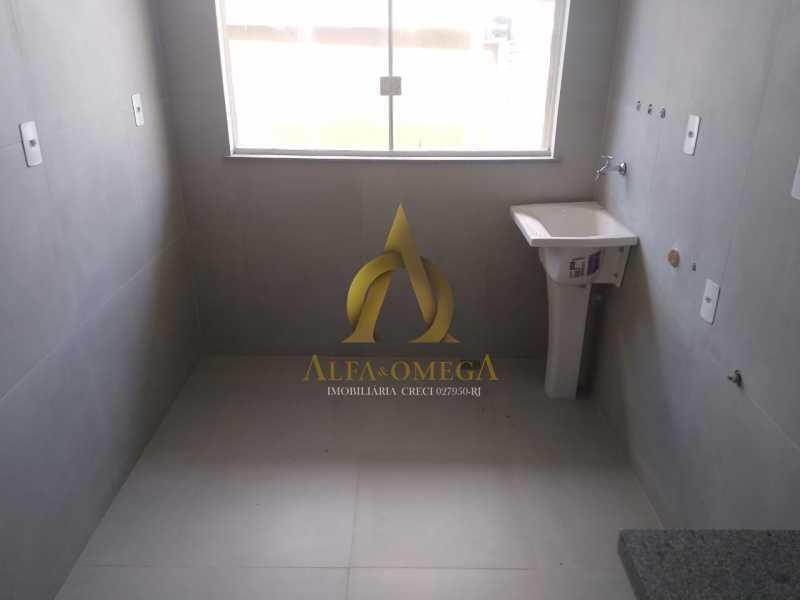 6 - Casa em Condomínio Rua Capitão Menezes,Praça Seca, Rio de Janeiro, RJ À Venda, 2 Quartos, 66m² - AOJ60032 - 24