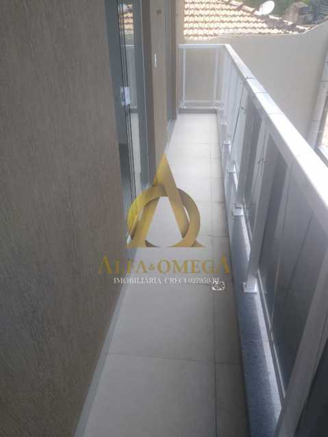 27 - Casa em Condomínio Rua Capitão Menezes,Praça Seca, Rio de Janeiro, RJ À Venda, 2 Quartos, 66m² - AOJ60032 - 6