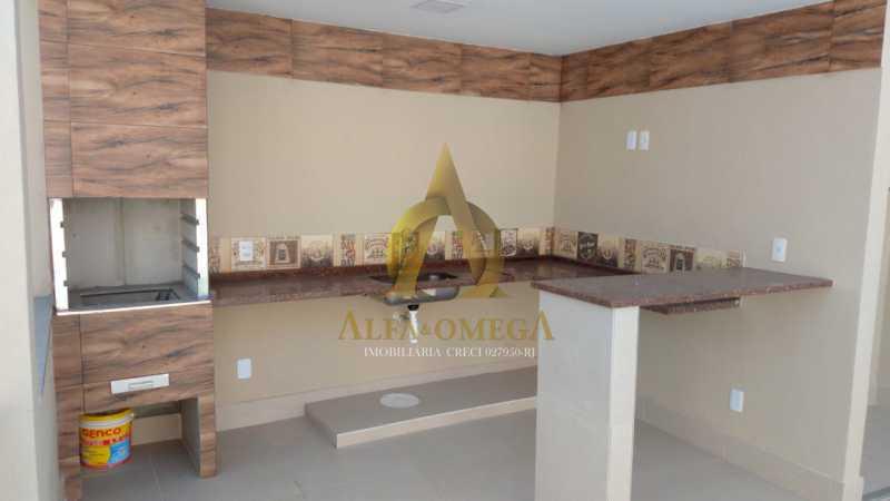 33 - Casa em Condomínio Rua Capitão Menezes,Praça Seca, Rio de Janeiro, RJ À Venda, 2 Quartos, 66m² - AOJ60032 - 29