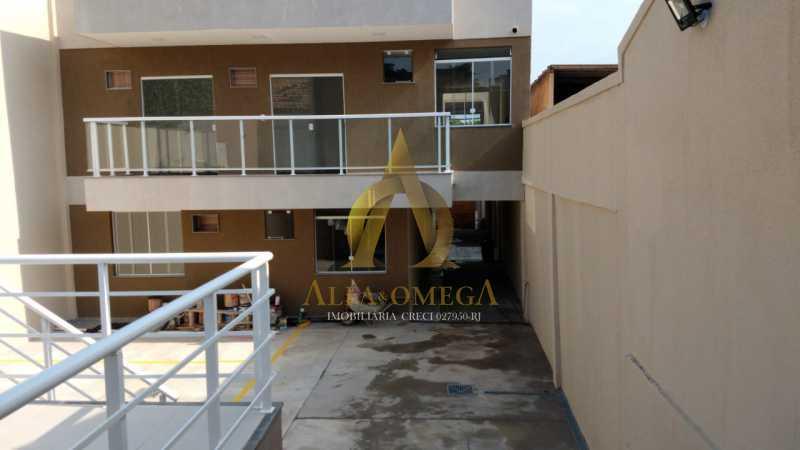 35 - Casa em Condomínio Rua Capitão Menezes,Praça Seca, Rio de Janeiro, RJ À Venda, 2 Quartos, 66m² - AOJ60032 - 1