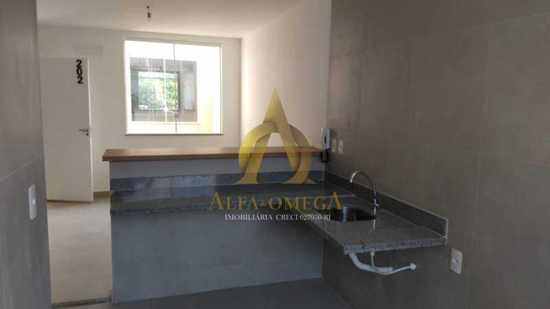 43 - Casa em Condomínio Rua Capitão Menezes,Praça Seca, Rio de Janeiro, RJ À Venda, 2 Quartos, 66m² - AOJ60032 - 22
