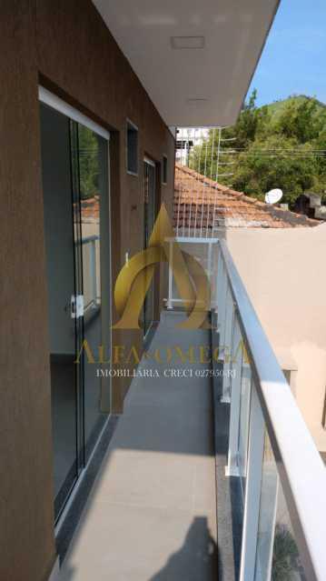 51 - Casa em Condomínio Rua Capitão Menezes,Praça Seca, Rio de Janeiro, RJ À Venda, 2 Quartos, 66m² - AOJ60032 - 8
