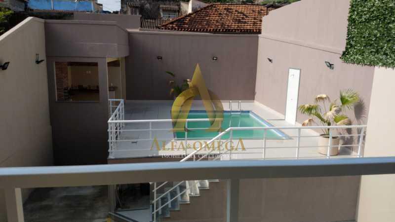 52 - Casa em Condomínio Rua Capitão Menezes,Praça Seca, Rio de Janeiro, RJ À Venda, 2 Quartos, 66m² - AOJ60032 - 26