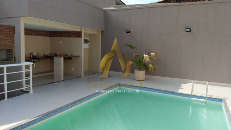 34 - Casa em Condomínio Rua Capitão Menezes,Praça Seca, Rio de Janeiro, RJ À Venda, 3 Quartos, 85m² - AOJ60034 - 23