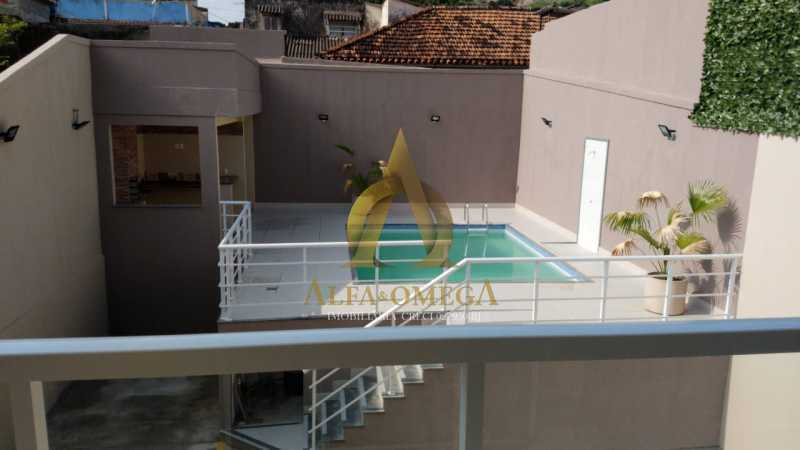 52 - Casa em Condomínio Rua Capitão Menezes,Praça Seca, Rio de Janeiro, RJ À Venda, 3 Quartos, 85m² - AOJ60034 - 30