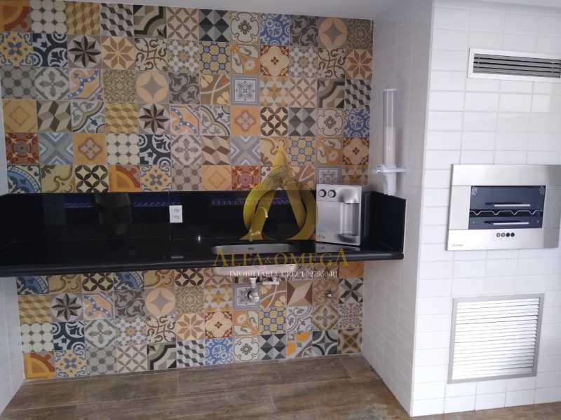 1 - Apartamento à venda Rua Almirante Ary Rongel,Recreio dos Bandeirantes, Rio de Janeiro - R$ 560.000 - AOJ20092 - 16