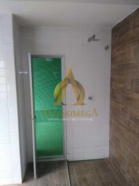 3 - Apartamento à venda Rua Almirante Ary Rongel,Recreio dos Bandeirantes, Rio de Janeiro - R$ 560.000 - AOJ20092 - 12