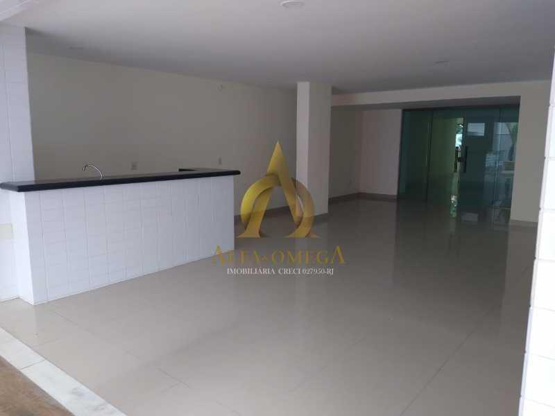 5 - Apartamento à venda Rua Almirante Ary Rongel,Recreio dos Bandeirantes, Rio de Janeiro - R$ 560.000 - AOJ20092 - 15