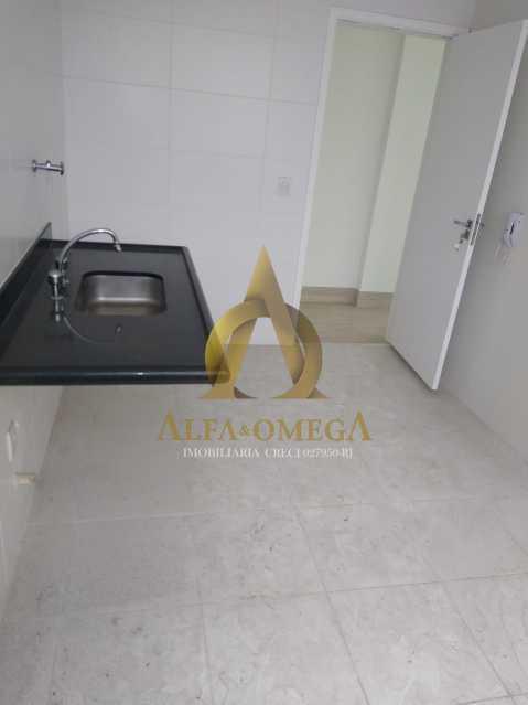 7 - Apartamento à venda Rua Almirante Ary Rongel,Recreio dos Bandeirantes, Rio de Janeiro - R$ 560.000 - AOJ20092 - 10
