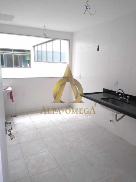 8 - Apartamento à venda Rua Almirante Ary Rongel,Recreio dos Bandeirantes, Rio de Janeiro - R$ 560.000 - AOJ20092 - 11