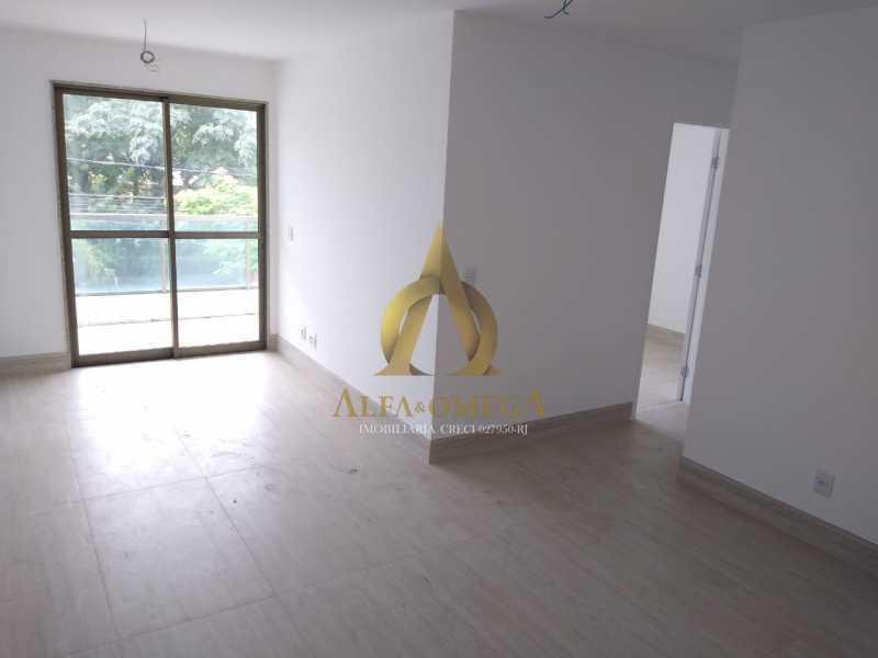 9 - Apartamento Rua Almirante Ary Rongel,Recreio dos Bandeirantes, Rio de Janeiro, RJ À Venda, 2 Quartos, 73m² - AOJ20092 - 1