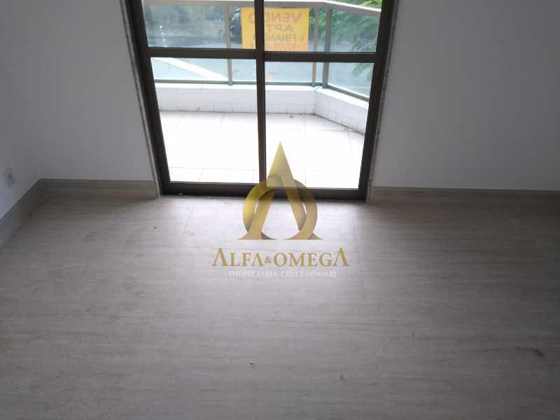 12 - Apartamento à venda Rua Almirante Ary Rongel,Recreio dos Bandeirantes, Rio de Janeiro - R$ 560.000 - AOJ20092 - 6