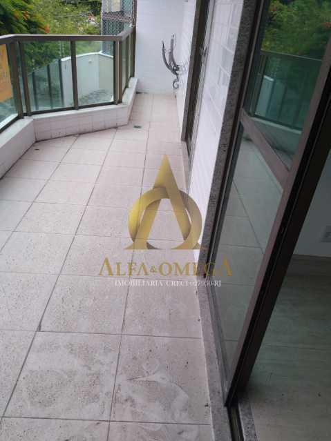 15 - Apartamento à venda Rua Almirante Ary Rongel,Recreio dos Bandeirantes, Rio de Janeiro - R$ 560.000 - AOJ20092 - 3