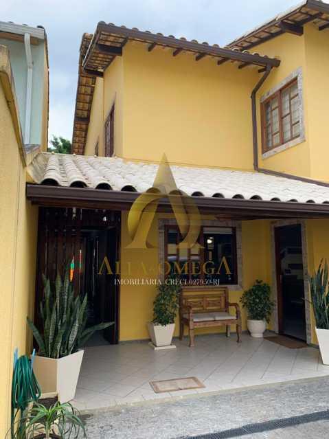 1 - Casa em Condominio Rua Oscar Lopes,Anil,Rio de Janeiro,RJ À Venda,4 Quartos,320m² - AOJ60036 - 1