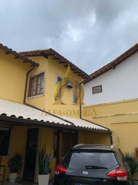 2 - Casa em Condominio Rua Oscar Lopes,Anil,Rio de Janeiro,RJ À Venda,4 Quartos,320m² - AOJ60036 - 23