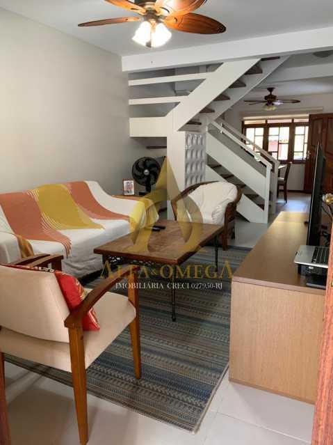 4 - Casa em Condominio Rua Oscar Lopes,Anil,Rio de Janeiro,RJ À Venda,4 Quartos,320m² - AOJ60036 - 4