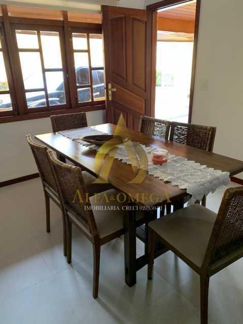 6 - Casa em Condominio Rua Oscar Lopes,Anil,Rio de Janeiro,RJ À Venda,4 Quartos,320m² - AOJ60036 - 5