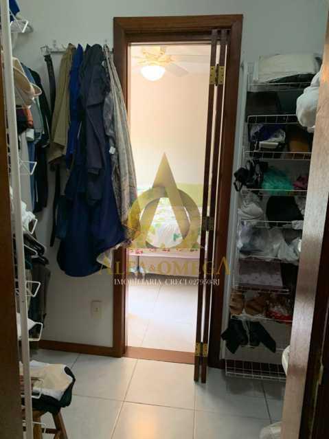 15 - Casa em Condominio Rua Oscar Lopes,Anil,Rio de Janeiro,RJ À Venda,4 Quartos,320m² - AOJ60036 - 9