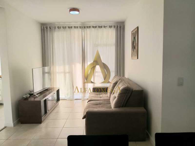 2 - Apartamento Avenida Eixo Metropolitano Este-Oeste,Jacarepaguá, Rio de Janeiro, RJ À Venda, 2 Quartos, 70m² - AOJ20095 - 1