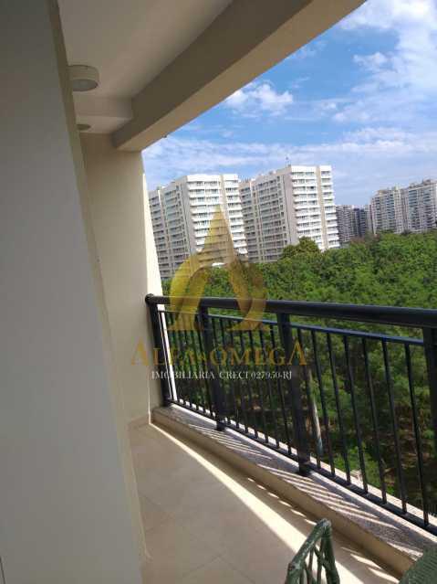 6 - Apartamento Avenida Eixo Metropolitano Este-Oeste,Jacarepaguá, Rio de Janeiro, RJ À Venda, 2 Quartos, 70m² - AOJ20095 - 4