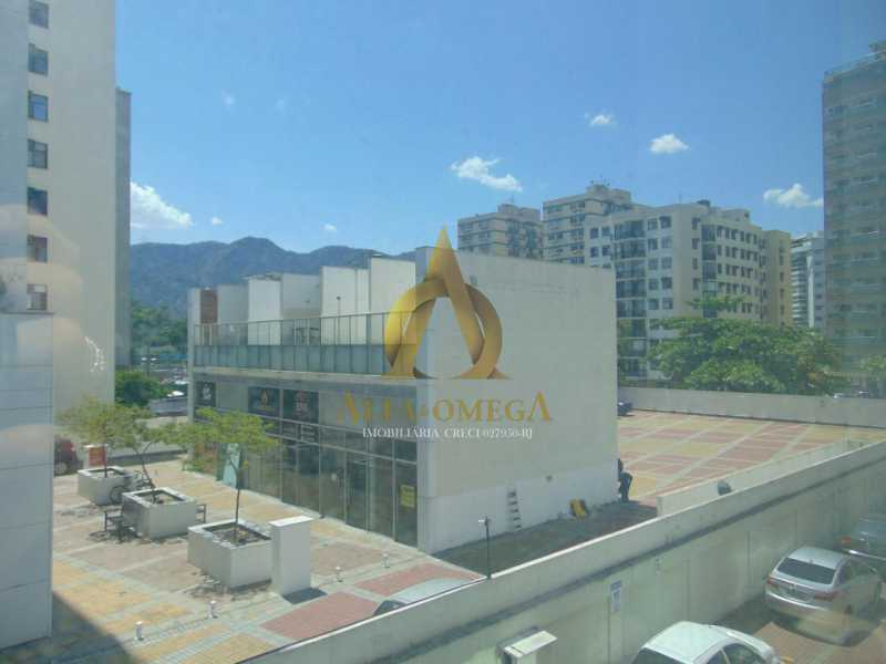 4 - Sala Comercial Avenida Embaixador Abelardo Bueno,Barra da Tijuca, Rio de Janeiro, RJ Para Alugar, 25m² - AOJ80001L - 1