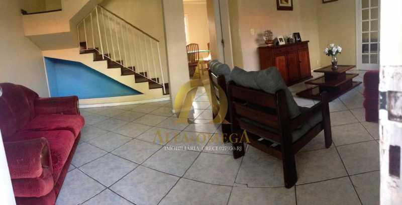 1 - Casa em Condomínio Estrada do Rio Grande,Taquara, Rio de Janeiro, RJ À Venda, 4 Quartos, 422m² - AOJ60040 - 1