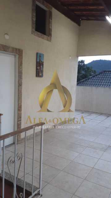 28 - Casa em Condomínio Estrada do Rio Grande,Taquara, Rio de Janeiro, RJ À Venda, 4 Quartos, 422m² - AOJ60040 - 28