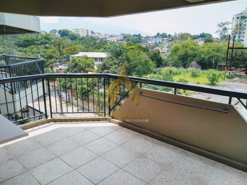 12 - Apartamento Estrada da Covanca,Tanque, Rio de Janeiro, RJ À Venda, 2 Quartos, 80m² - AOJ20101 - 3