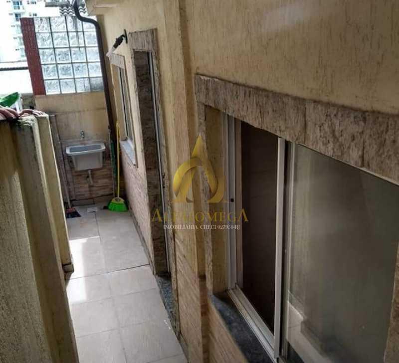 6 - Casa em Condomínio Estrada Capenha,Pechincha, Rio de Janeiro, RJ Para Alugar, 2 Quartos, 53m² - AOJ60017L - 8