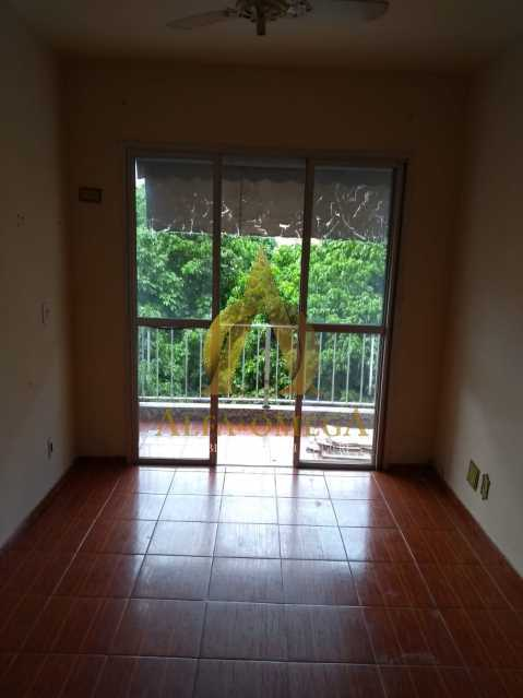 3 - Apartamento Rua Iriquitia,Taquara, Rio de Janeiro, RJ Para Alugar, 2 Quartos, 65m² - AOJ20030L - 1