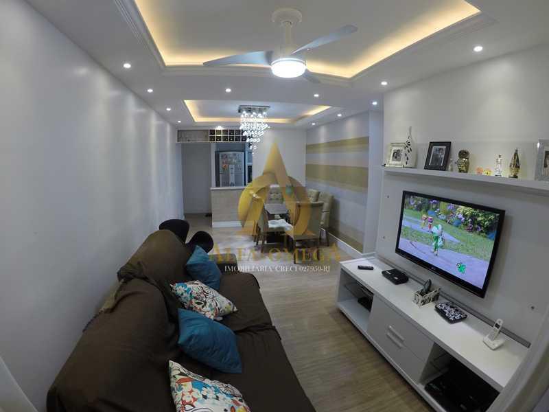 001 - Apartamento à venda Estrada de Camorim,Jacarepaguá, Rio de Janeiro - R$ 451.000 - AOJ40005 - 1