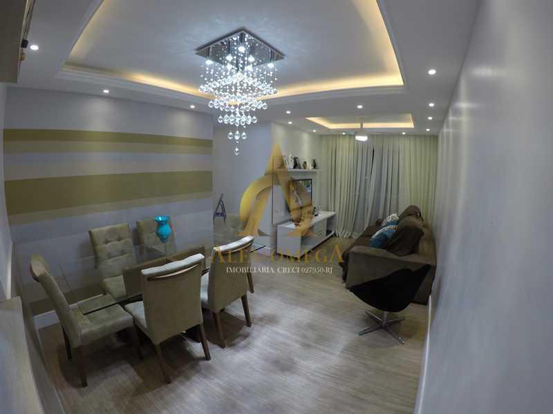 002 - Apartamento à venda Estrada de Camorim,Jacarepaguá, Rio de Janeiro - R$ 451.000 - AOJ40005 - 3