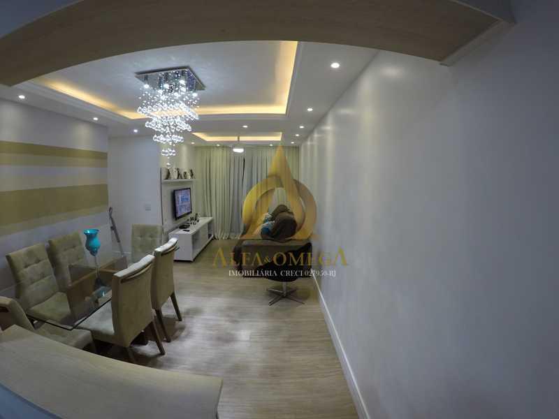 003 - Apartamento à venda Estrada de Camorim,Jacarepaguá, Rio de Janeiro - R$ 451.000 - AOJ40005 - 4