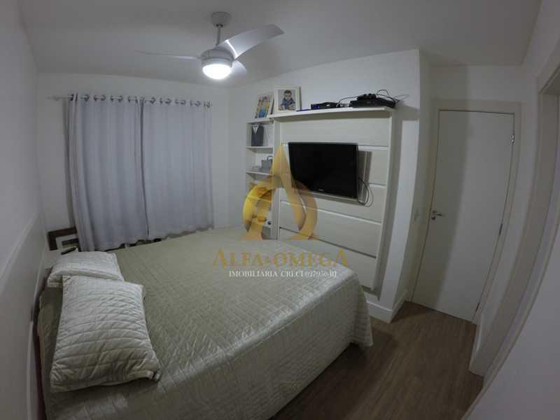 006 - Apartamento à venda Estrada de Camorim,Jacarepaguá, Rio de Janeiro - R$ 451.000 - AOJ40005 - 7