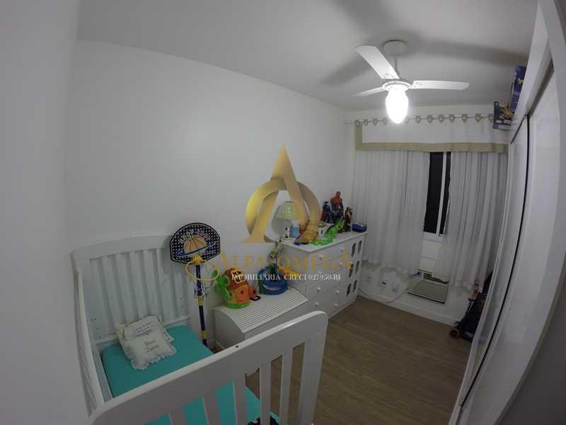 009 - Apartamento à venda Estrada de Camorim,Jacarepaguá, Rio de Janeiro - R$ 451.000 - AOJ40005 - 9