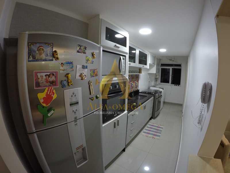 012 - Apartamento à venda Estrada de Camorim,Jacarepaguá, Rio de Janeiro - R$ 451.000 - AOJ40005 - 13
