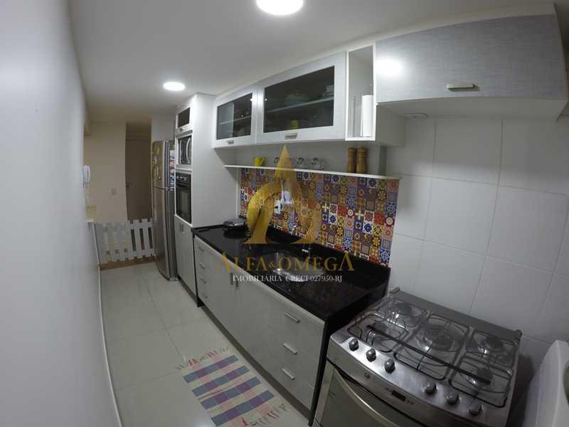 014 - Apartamento à venda Estrada de Camorim,Jacarepaguá, Rio de Janeiro - R$ 451.000 - AOJ40005 - 14